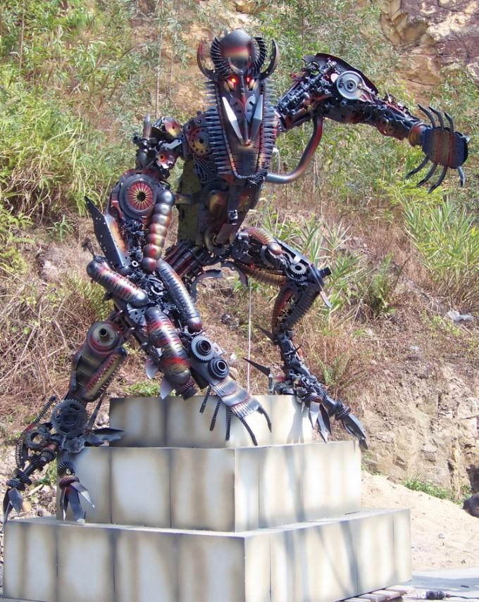 real life alien robots real steel