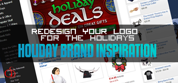Redesign Your Logo for the Holidays