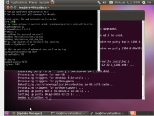 how to start ubuntu desktop from ssh