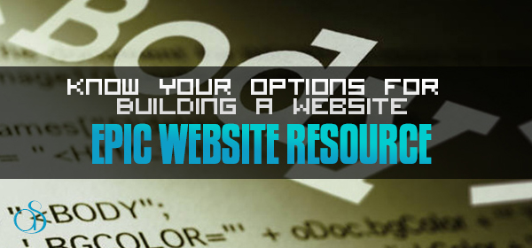 Know Your Options For Website Creation