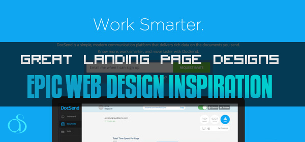 Great Landing Page Designs