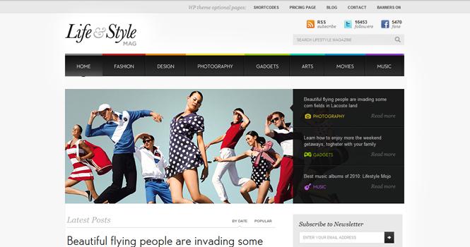 Magazine WordPress Theme - Lifestyle