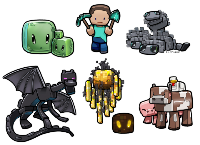 awesome minecraft monsters