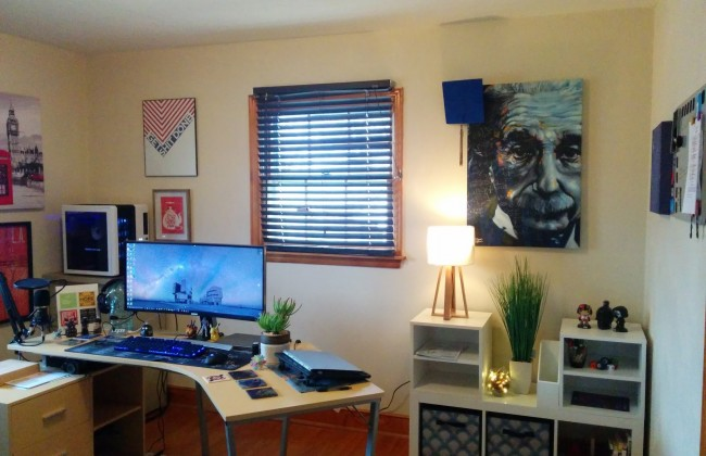 living room wall makeover 1
