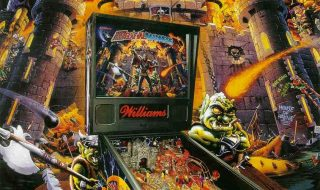 medieval-madness-pinball-flyer-poster-design