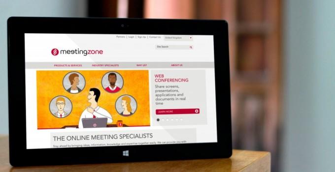 meetingzone-clean-website-design