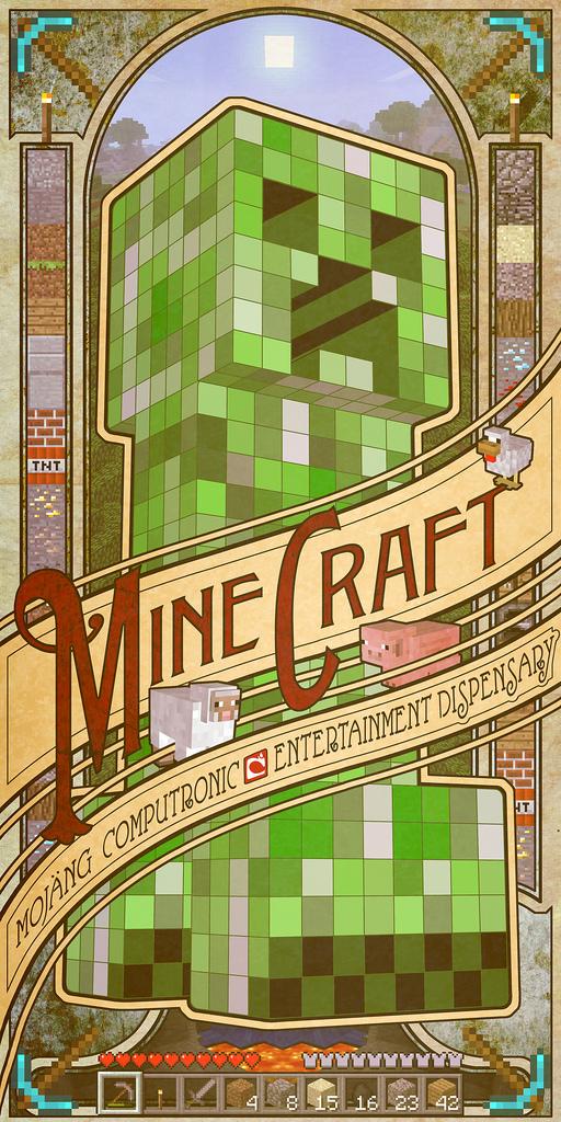 60 Epic Minecraft Art