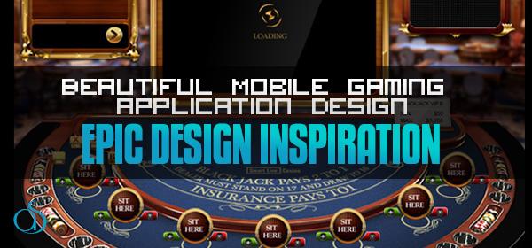 20+ Beautiful Mobile Gaming App Design