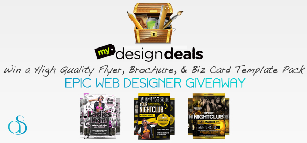 Epic Flyer Heroes Template Pack Giveaway from MyDesignDeals