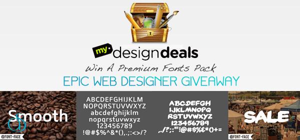 Win 8 Premium Fonts Courtesy of MyDesignDeals.com