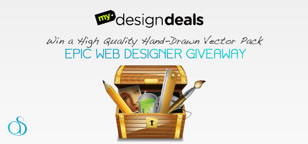 Epic Hand-Drawn High Quality Vector Pack Giveaway from MyDesignDeals
