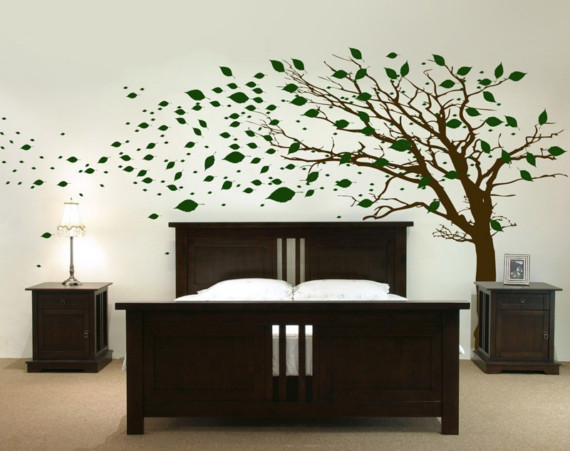 Elegant To inspire you here are some creative examples of nature wall stickers