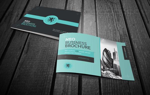 Neo business brochure inspiration - Corporate flyer inspiration ...