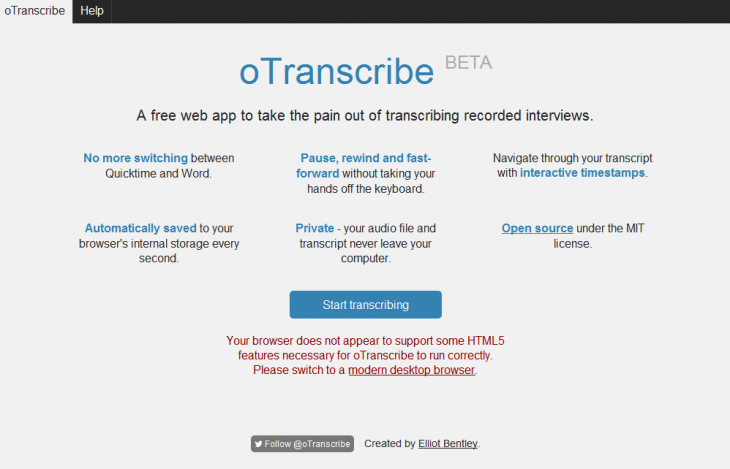 oTranscribe-apps-students-tech