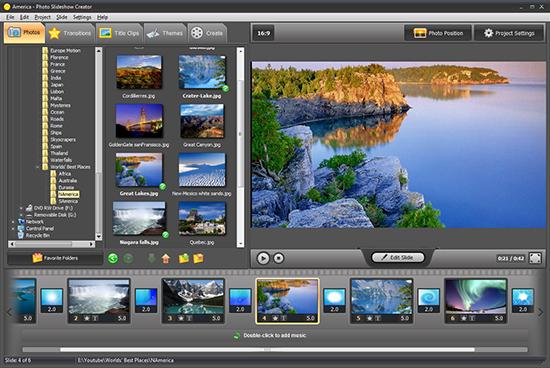 best program to create slideshow with music