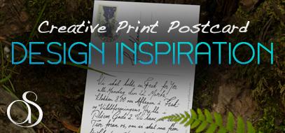 100+ Creative, Inspirational & Stylish Print Postcard Design Project Examples