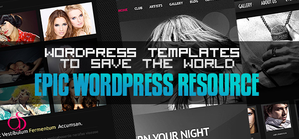 20 WordPress Pre-Built Templates to Save the World