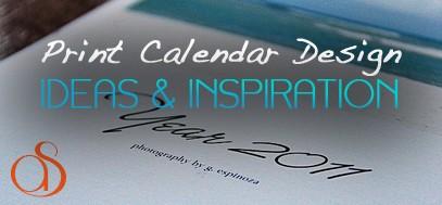 100+ Creative, Beautiful & Inspirational Print Calendar Designs
