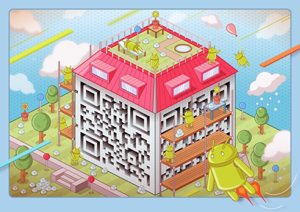 40+ Epic QR Code Art
