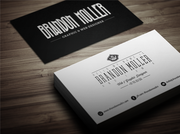 50 epic psd business card template files divide minimalistic business card reheart Gallery