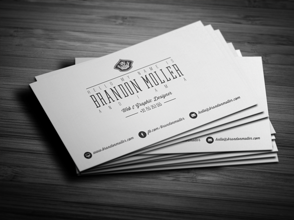 50 epic psd business card template files divide minimalistic business card free psd template flashek Image collections