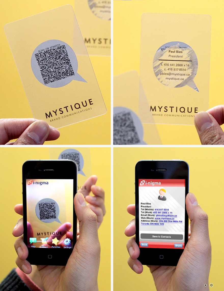 20 Examples of Creative Business Card Ideas