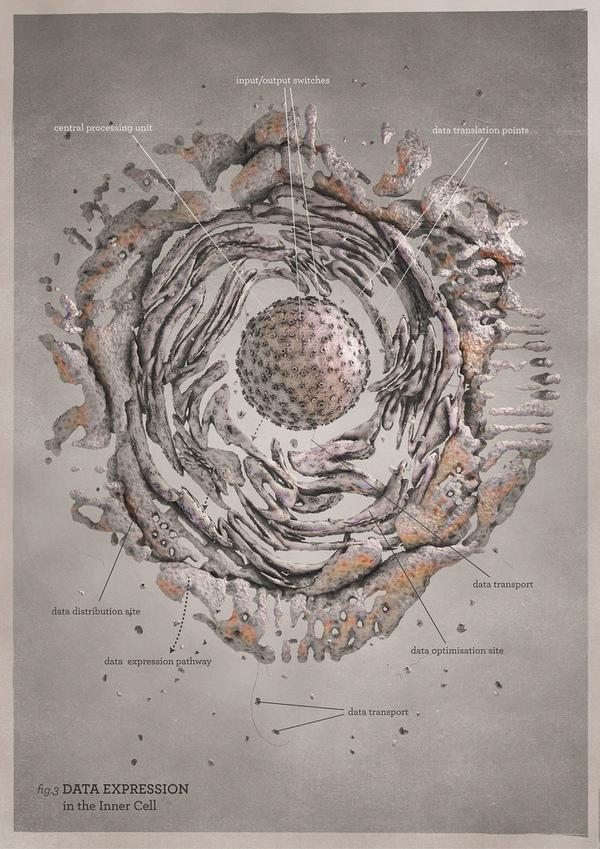 60+ Epic Science Art Cell Biology Art