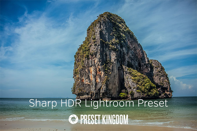 Sharp HDR Lightroom Preset