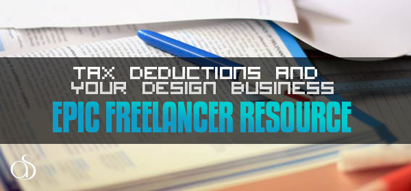 Small Business Tax Deductions And Your Design Business