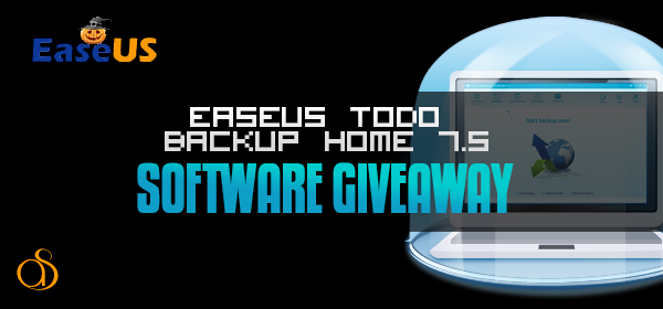 Giveaway: Win EaseUS Todo Backup Home 7.5 Software For Free!