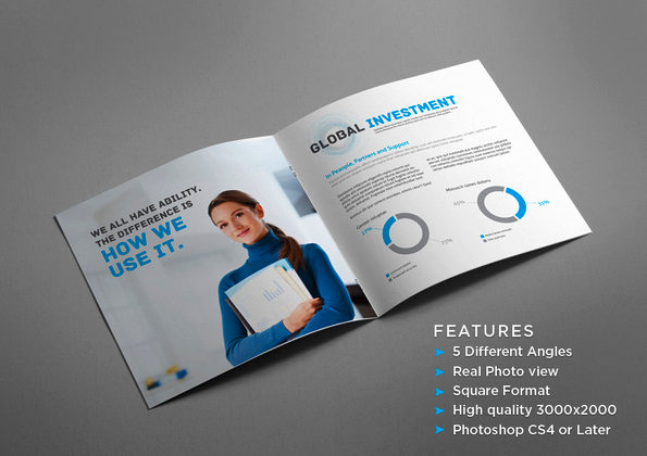 brochure mock up template - 40 epic brochure inspiration daily resources for web