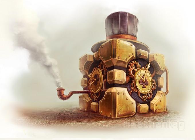 Steampunk.. Clock?