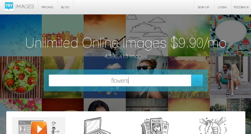 Stream in Real Time – Stock Photos from YAY Images