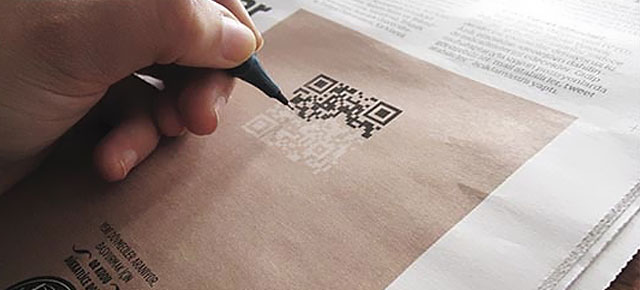 the best uses of qr codes in design daily resources for web designers developers by andy. Black Bedroom Furniture Sets. Home Design Ideas