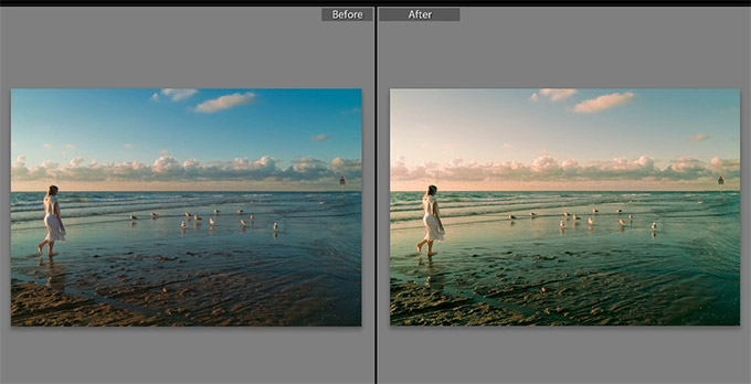 Teal Water Lightroom Preset