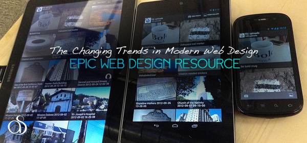 The Changing Trends in Modern Web Design