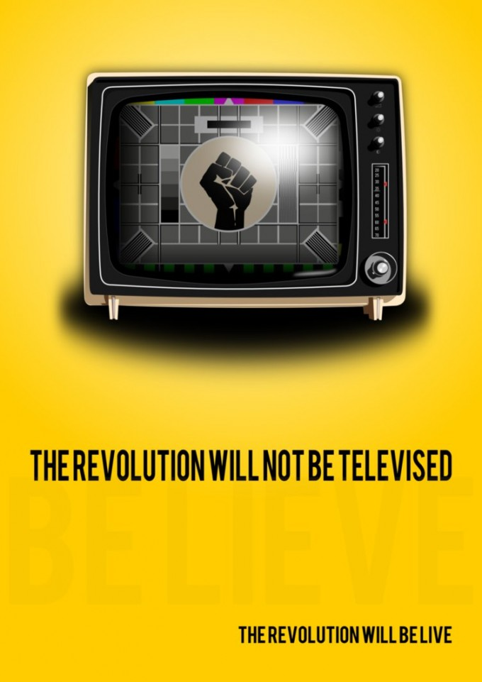 The revolution will not be televised - Everything2.com