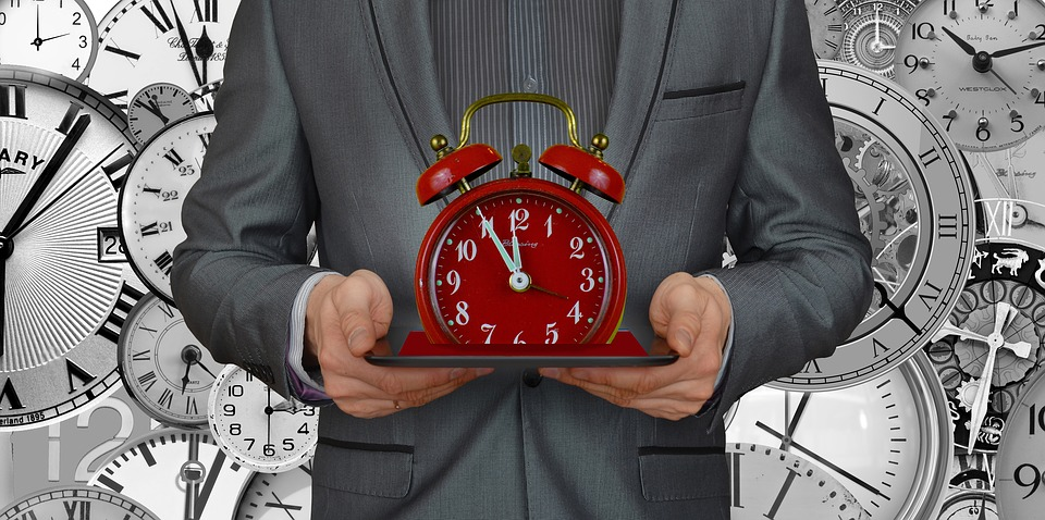 Consulting Clock Meeting Time Businessman Business