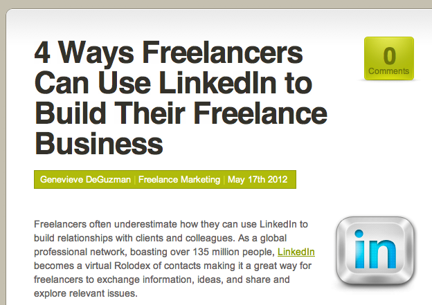 4 Ways Freelancers Can Use LinkedIn to Build Their Freelance Business