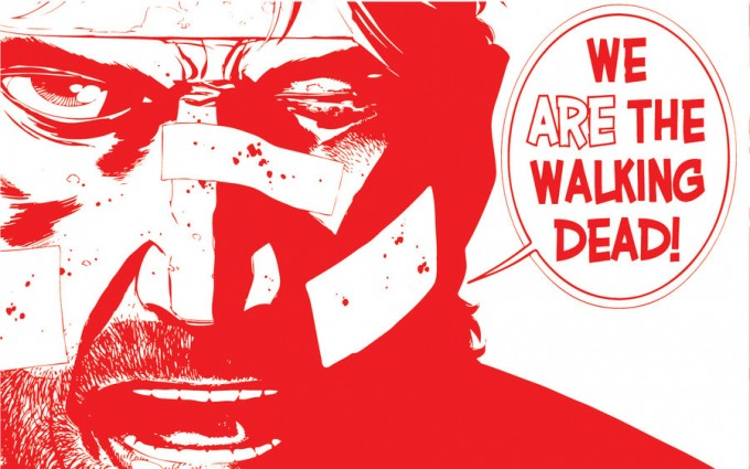 Another Awesome Illustration From The Walking Dead Comic