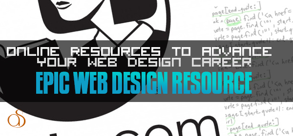 Online Resources To Advance Your Web Design Career