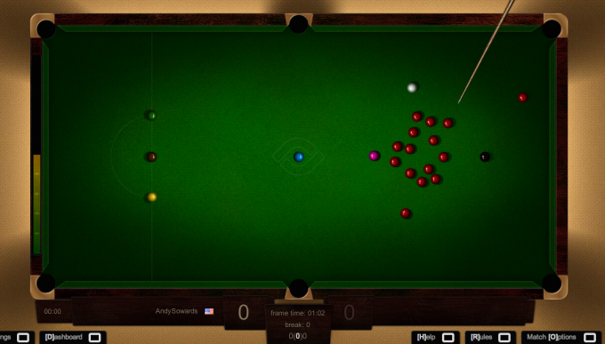 Baby game for PC snooker video
