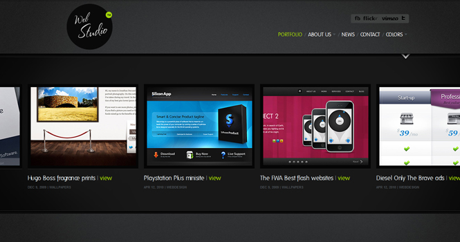 Creative WordPress Theme - WebStudio