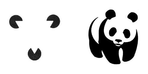 world-wildlife-fund-logo-gestalt-closure