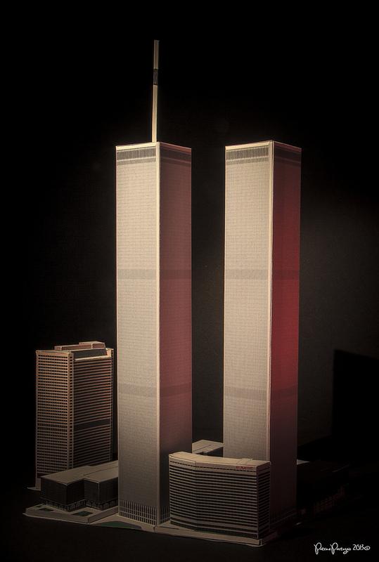 World Trade Center Paper Model