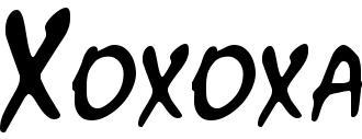 FONT XOXOXA