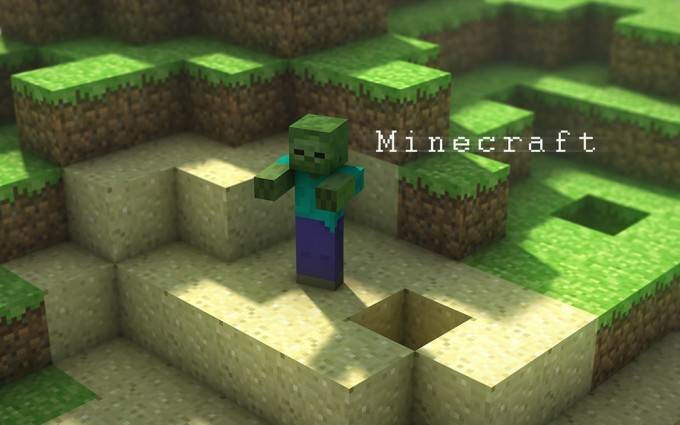 cool wallpapers of minecraft zombies - photo #15