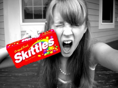 Skittles scream