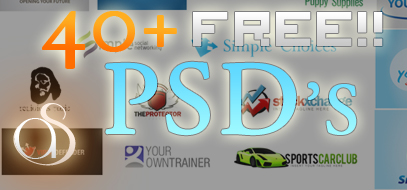 40+ FREE Logo PSD's from Shaboopie.com
