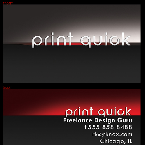 40 best free business card templates in psd file format for Printable business cards templates